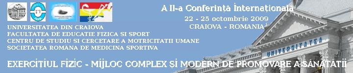 Conferinta Internationala Craiova 2009