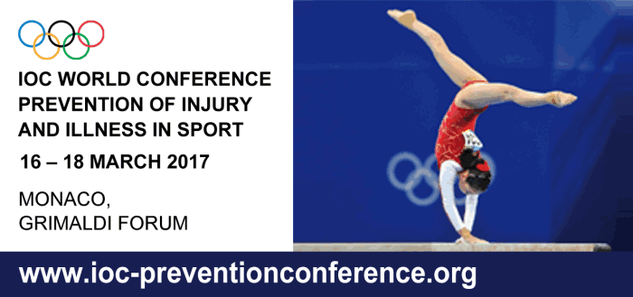 IOC WORLD CONFERENCE ON PREVENTION OF INJURY AND ILLNESS IN SPORT