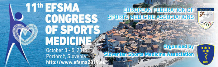 EFSMA Congress of Sports Medicine 2019
