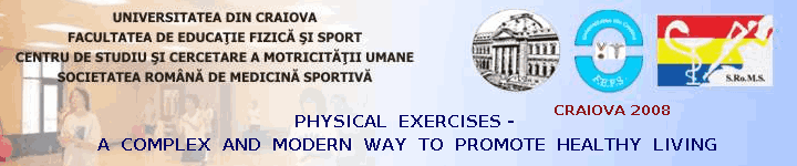 Physical Exercises - a complex and modern way to promote healthy living