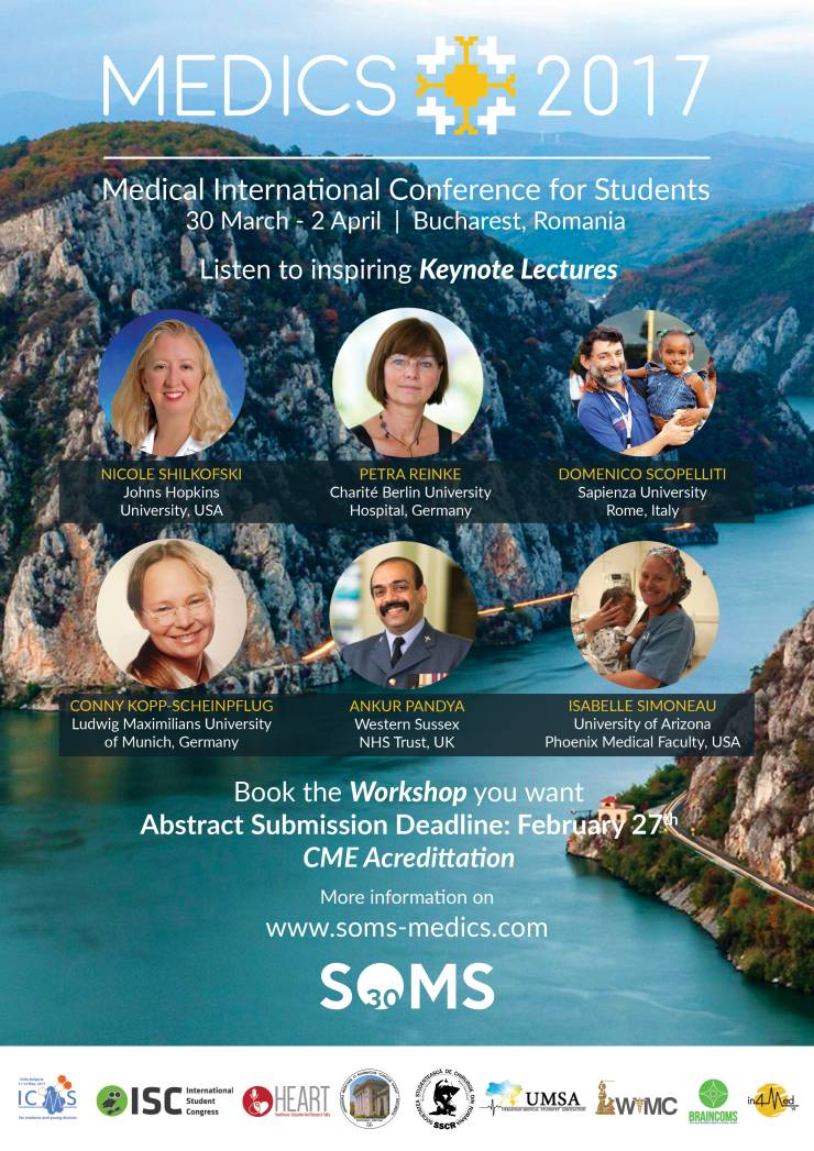 Medical International Conference for Students, MEDICS 2017