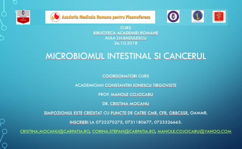 Microbiomul intestinal si cancerul