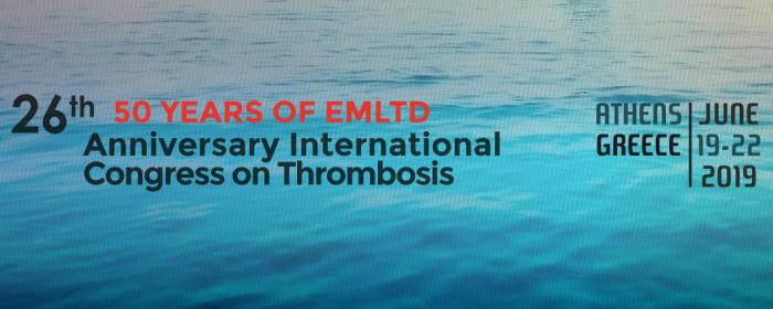26th International Congress on Thrombosis (ICT) 2019